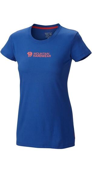 Mountain Hardwear W's MHW Logo 3.0 S/S T Cornflower (417)